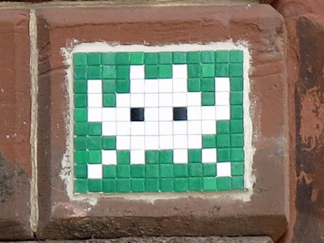 Ceramic tile public artwork, High Bridge, NE1