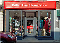 SU7682 : The British Heart Foundation Charity Shop, 22 Duke Street, Henley-on-Thames by Roger A Smith