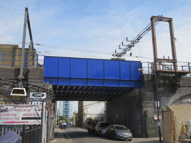 Bridge over Caroline Street, Limehouse