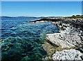 NS0359 : Carrick Point Coastline - Isle of Bute by Raibeart MacAoidh