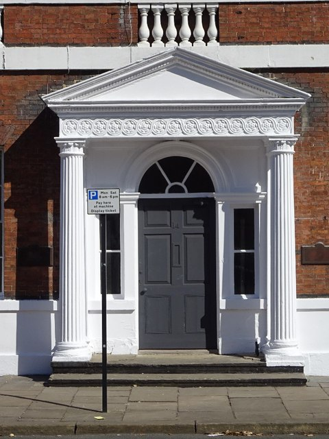 Door and portico, St John's North