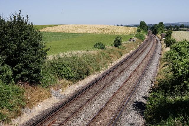 Railway at Amberley