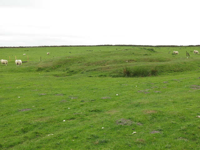 Old mine spoil heap near Haresby Road