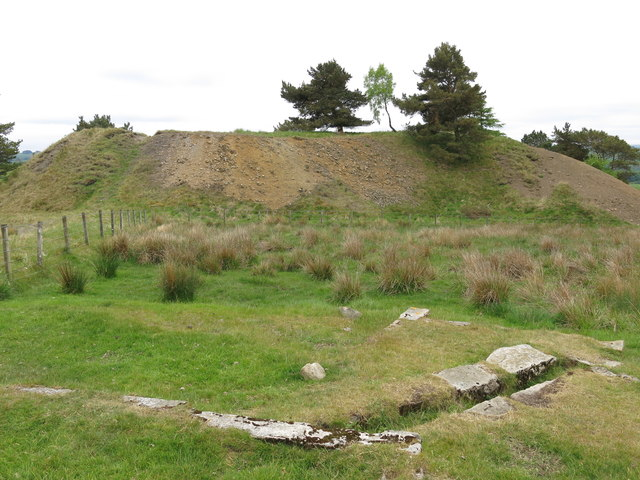 Langley Barony Lead Mine - site of weigh table