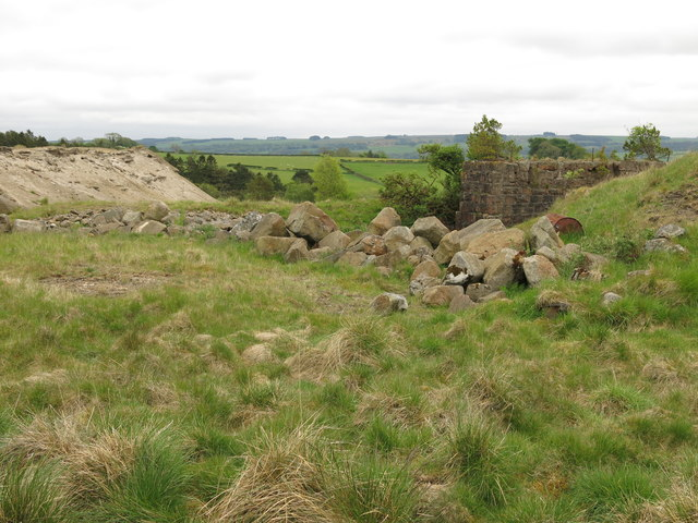 Langley Barony Lead Mine - Leadbitter Shaft