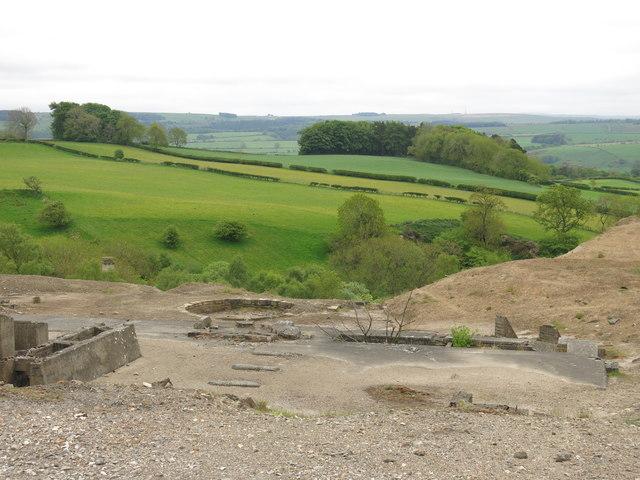 Langley Barony Lead Mine - dressing floor