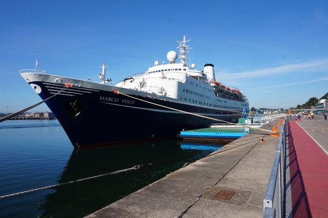 Marco Polo Cruise Ship in Cobh