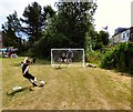 SJ9593 : Penalty Shoot-out by Gerald England