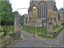 ST8260 : Churchyard gateway by Michael Dibb