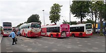 J0407 : Buses at Dundalk Bus Eireann Station  by Eric Jones
