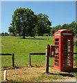 SU0730 : Red boxes, Burcombe by Derek Harper