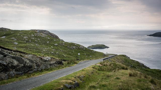 Road down to Rhenigidale