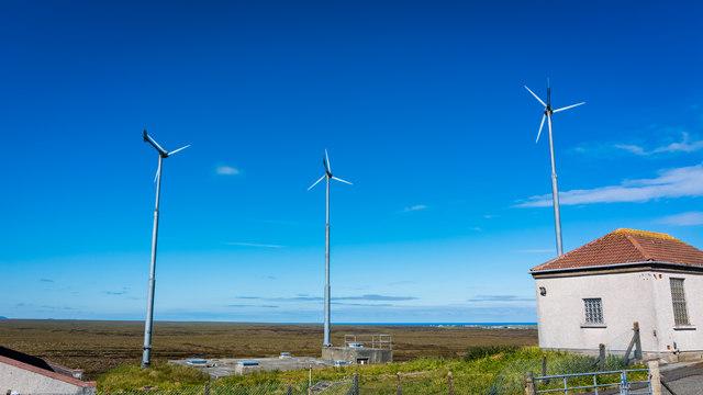Small wind turbines