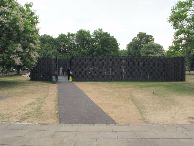 Serpentine Gallery Pavilion 2018 from gallery