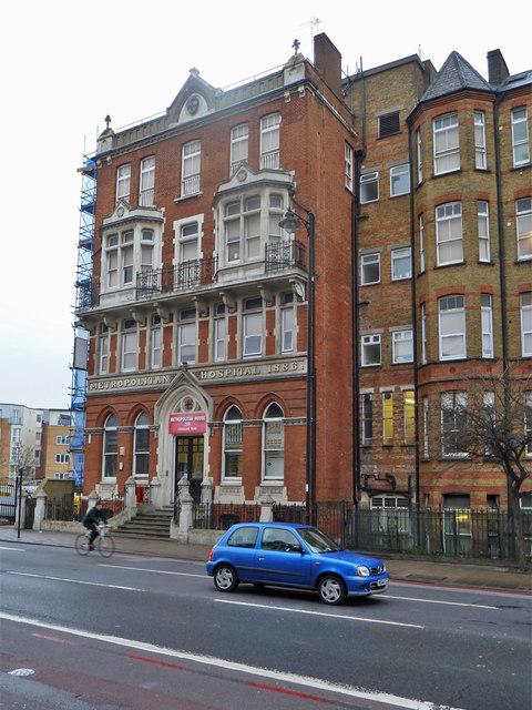 Former Metropolitan Hospital building, Kingsland Road