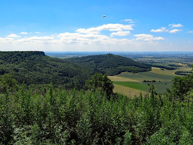 View south-west from Sutton Bank