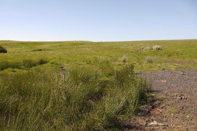 Moorland north of Sundaysight