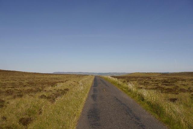 Road over Padon Hill