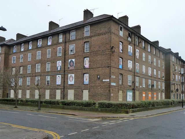 Samuel House, Haggerston Estate