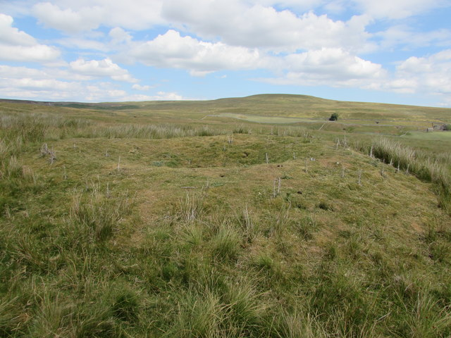 Unmarked Mine Shaft on Gale Head Moor