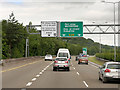 W7472 : Overhead Sign Gantry on the N25 by David Dixon