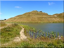 NZ2377 : Face of Northumberlandia by Oliver Dixon