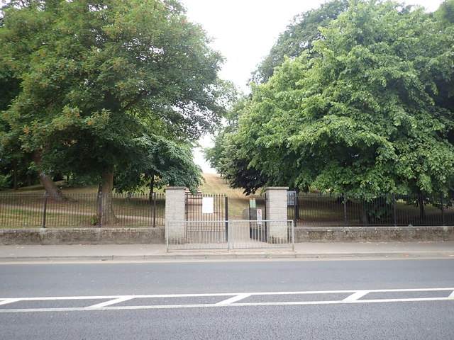 The McSwiney Road entrance to the Ice House Hill Park, Dundalk