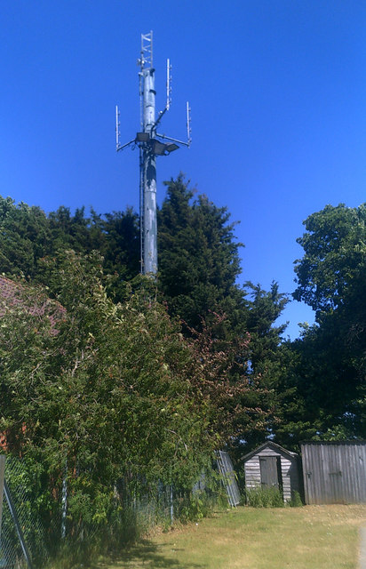 Telecommunications Mast at Plantation Park Football Ground