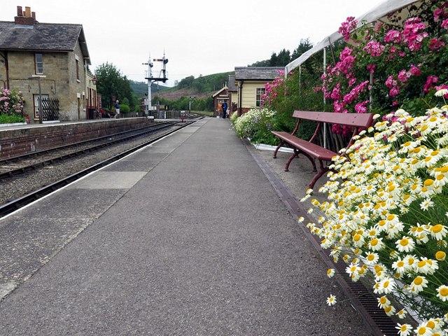 Pickering Platform, Levisham Railway Station
