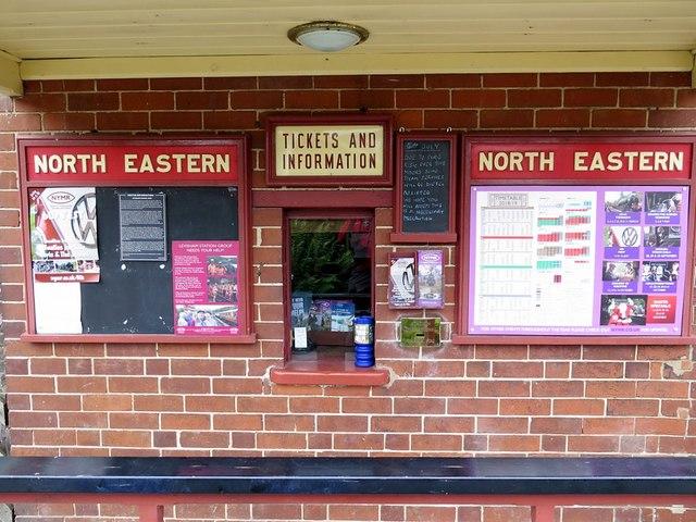 Ticket Office, Levisham Railway Station