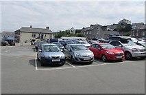 SN3860 : Rock Street Car Park, New Quay by Jaggery