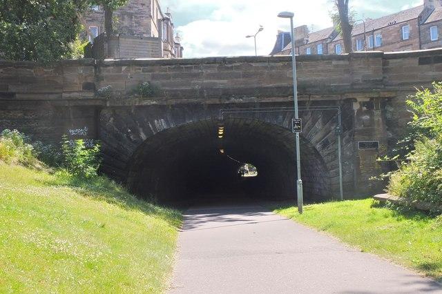 Rodney Street former railway tunnel, Edinburgh