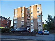 TQ7555 : Block of flats on Terrace Road, Maidstone by David Howard