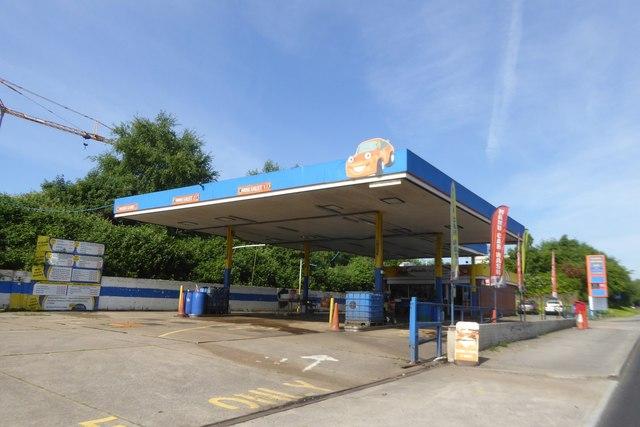 Car wash, ADF Motors, Swansea