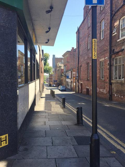 South on Market Street, Wakefield