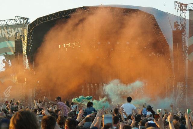 Arctic Monkeys take the stage at TRNSMT, Glasgow Green