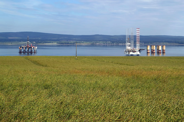 Arable farmland at Newton of Cromarty