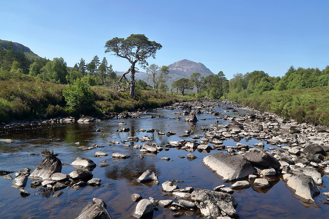 The A' Ghairbhe River