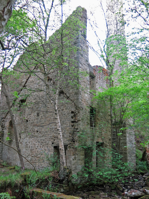 Langley Barony Lead Mine - engine and boiler house (4)