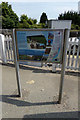 TM4069 : Darsham Information sign by Adrian Cable