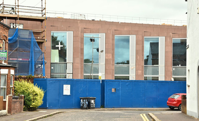 New School of Biological Sciences, Queen's University, Belfast (July 2018)