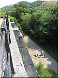 SK1373 : Monsal Trail: view from Lime Kilns near Miller's Dale by Gareth James