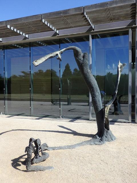 Yorkshire Sculpture Park: Underground Gallery and sculpture