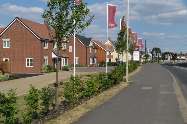 New housing on the Bromham Road