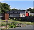 NJ6328 : Insch fire station by Bill Harrison