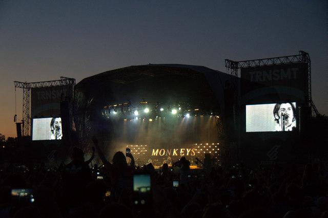 Arctic Monkeys at TRNSMT, Glasgow Green