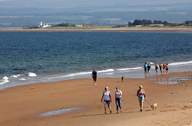 The beach at Rosemarkie