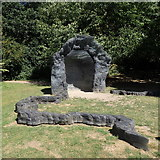 "SE2812 : Yorkshire Sculpture Park: ""Damski Czepek"" by Rudi Winter"