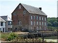 SZ3589 : Former tide mill, Yarmouth by Chris Allen