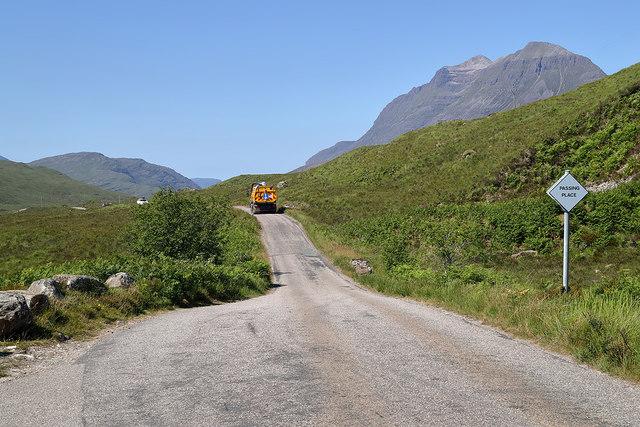 The road to Torridon
